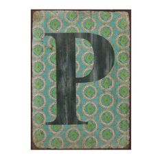 Wholesale 'p' fridge magnet - Something Different