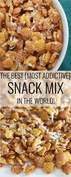 GORP - The Best Snack Mix in the World - Pretty Providence