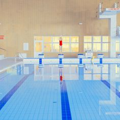 New Swimming Pool Photography – Maria Svabova Trampolines, Photomontage, Swimming Pool Photography, I Love Swimming, Backyard Trampoline, Primary Colors, Art Photography, Colours, Marvel