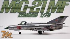 1/72 Mig-21 MF - Eduard - scale model step by step build