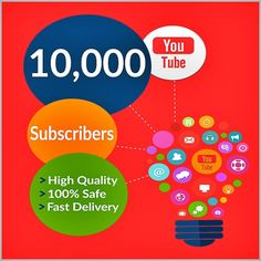 Buy YouTube subscribers at Youtubebulkviews.com - we provide High Quality - Fast and totally real subscribers