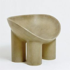 FAYE TOOGOOD ROLY POLY CHAIR, RAW