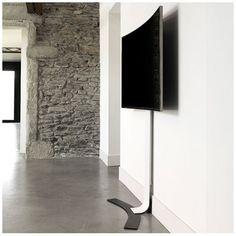 Erard WILL 1400 XL mobiler TV Standfuß mit Ablage, weiß | Pinterest ...