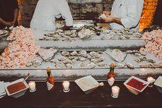 Urban New York City loft wedding