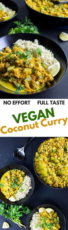 No Effort, Full Taste - Coconut Curry | hurrythefoodup.com