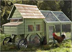 An $800 dollar chiken coop!  :)