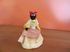 Aunt Jemima Black Americana Dinner Bell from by CathyAnnsVintage