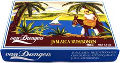 OMG! These are so good. Sugar coating with chocolate cover filled with RUM!!! Rumbonen.