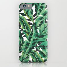 Buy Tropical Glam Banana Leaf Print by Boltsandglitter as a high quality iPhone & iPod Case. Worldwide shipping available at Society6.com. Just one of…