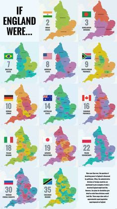 40 Ways to Carve Up England - Big Think Uk History, European History, British History, History Facts, Map Of Great Britain, Britain Map, Geography Map, Ap Human Geography, England Map