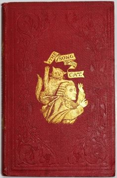 A Manchester Book; THE SONG OF THE CAT; illustrated with wood-cuts: 1858.