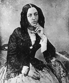 Aurore Dupin, whom we know as author George Sand. -- I can see why Juliette Binoche played her a few years back....