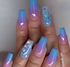 If you are also a big fan of coffin nails, then you can carnival here! We have collected many, many best coffin-shaped nails. Today, let's focus on the acrylic coffin nails. Summer Acrylic Nails, Best Acrylic Nails, Acrylic Nail Designs, Spring Nails, Summer Nails, Coffin Nails Designs Summer, Nail Art Designs, Gorgeous Nails, Pretty Nails