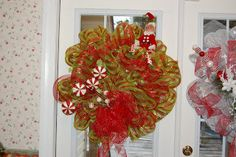 Elf Christmas Wreath