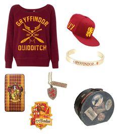 """Gryffindor"" by boston-c on Polyvore featuring Warner Bros."