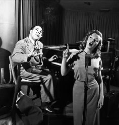 Marilyn Monroe's singing lessons, Mocambo, Hollywood, 1949