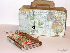 Tacones con Gracia: Maleta y mini viajero. Los trabajos del taller de Caype en Vitoria