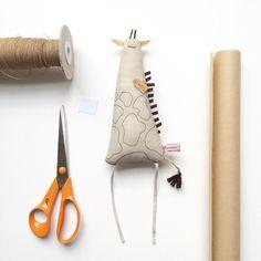 Очаровательные текстильные игрушки-примитивы Kim Smith