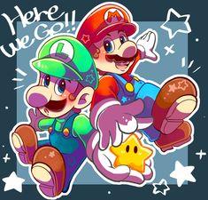 Super Mario Bros, Super Mario Birthday, Mario Birthday Party, Super Mario Brothers, Super Smash Bros, Mario Y Luigi, Mario Fan Art, Paper Mario, Marvin The Martian
