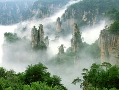 Where Will Be Aussies Travelling To In 2017? Huffpost tips Zhangjiajie in Hunan as a hotspot