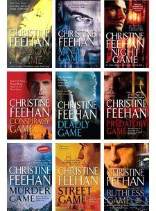 Christine Feehan Ghostwalker Series