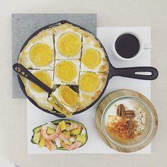 . morning tuesday :-D))) . #goodmorning #morning #breakfast #yummy #goodfood #instafood #onthetable  #homemade #foodie #foodstagram #igfood #foodphotography #foodphoto #yum #2eat2gether #S_S_iloveBreakfast #朝食 #早餐 #goodmorning #早安 #おはようございます #baking #烘培 #pie #lasagna #派 #パイ #焗烤乳酪南瓜菠菜千層派  #ラザニア  #かぼちゃ #S_S_iloveBaking