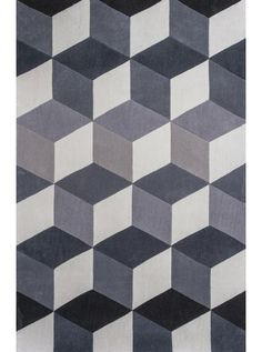 This Zolo Grey Kaleidoscope Collection rug (3906) is manufactured by KAS. Shop for more rugs from RugsHQ.com