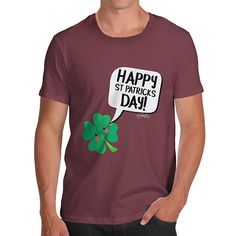 Men's Cute Clover...  http://twistedenvy.com/products/mens-cute-clover-st-patricks-day-t-shirt?utm_campaign=social_autopilot&utm_source=pin&utm_medium=pin   Twisted Envy unique gift ideas and personalised gifts, as well as inspirational art    #Twistedenvy