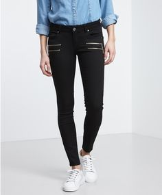 Gina Tricot - Elle Zip-Jeans