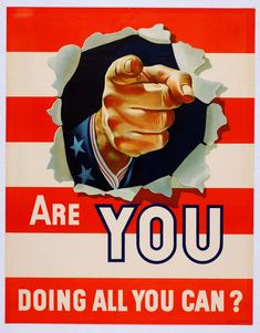 WWII: Are YOU doing all you can?