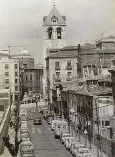 León, fotos antiguas, torre de la Real colegiata de san Isidoro