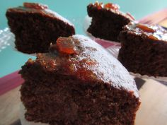 Chocolate Marmalade Cake チョコレートマーマレードケーキ 250yen