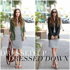 One  Dress, Two Ways