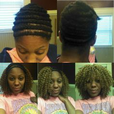 Crochet Braids With Bangs YouTube Black Hair Pinterest - Diy braid pattern