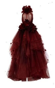 Ombré Tulle Ball Gown by MARCHESA for Preorder on Moda Operandi