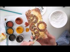 Mixed Media Steampunk Tag Tutorial using Finnabair 'Rust Effect Paste'