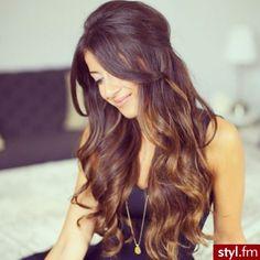 curls #brunette