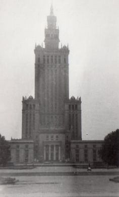 old Warsaw - Palace of Culture