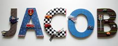Transportation Custom Wall Letters ,Emergency Vehicles Kids Decor, Transportation Room Decor, Nursery Name Letters,Personalized Gift. Nursery Decor Boy, Nursery Letters, Boy Decor, Boys Room Decor, Kids Decor, Boy Room, 3d Wall Decor, Craft Room Decor, Creative Arts And Crafts