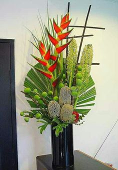 #foliage#heliconia#tropical#arrangement