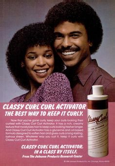 Wow! Classy Curl Activator for the Jerri Curl.....Ola Ray from MJ's Thriller video!