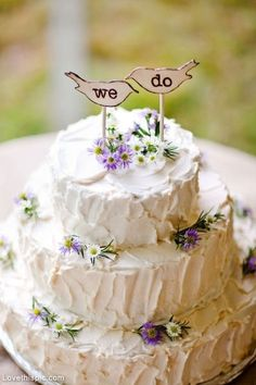 We do wedding cake wedding food sweet outdoors flowers cake country