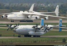 "Ан-22 ""Антей"" и Ан-225 ""Мрия"""