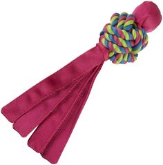 KONG Wubba Weave Dog Toy - Pink - Large ** Continue to the product at the image link.
