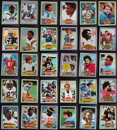 1980 Topps Football Cards Complete Your Set You U Pick From List 1-200