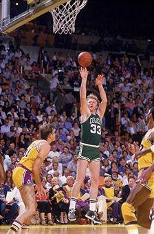 Boston Celtics Larry Bird, 1984 NBA Finals