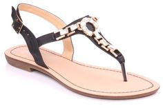 Unze Keir' Ladies Womens Casual Flat Thong Sandals - 15B1558-6 -- See this great product.