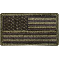 Olive Drab Marines Subdued USA FLAG Morale Patch Tactical Military Hook Badge