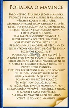 Výsledek obrázku pro pohádka o mamince Diy And Crafts, Crafts For Kids, School Songs, Kids Education, Kindergarten, Homeschool, Karpathos, Motivation, Hana
