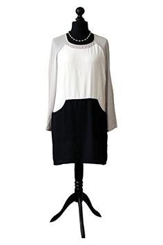 Übergangskleid Black&White | Vila Clothes | JUUCCO Collection (Größe: 38/L) JUUCCO http://www.amazon.de/dp/B01AWU1844/ref=cm_sw_r_pi_dp_jnb8wb0BMCJRG
